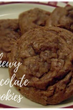 Chewy Chocolate Cookie Bites Recipe