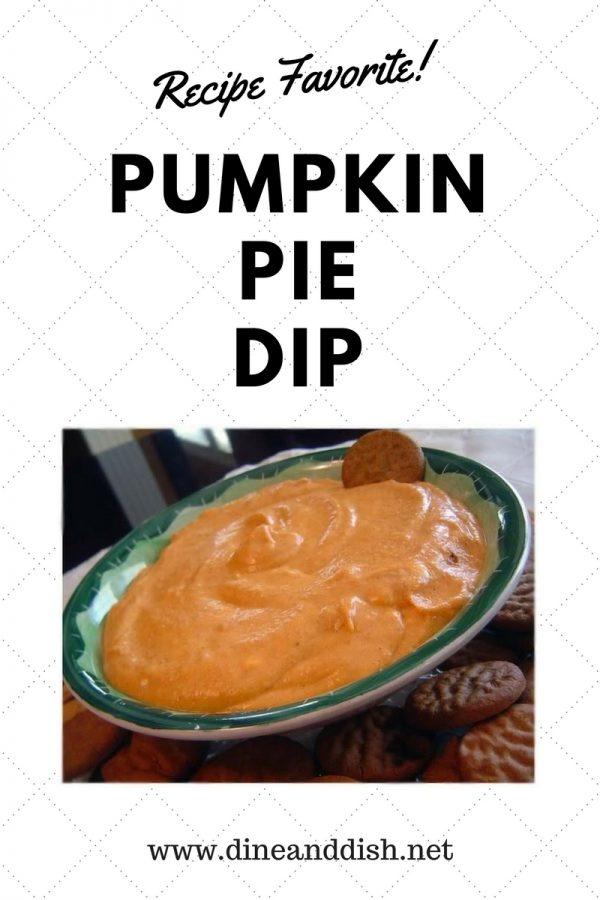 Pumpkin Pie Dip Recipe from dineanddish.net