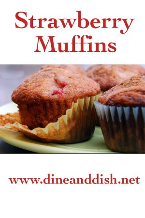 Smashed Strawberry Muffins Recipe