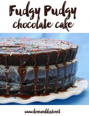 "One of ""Those"" Bloggers – Fudgy Pudgy Chocolate Cake Recipe"