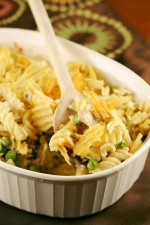 What is Comfort? (Recipe: Tuna Noodle Casserole)