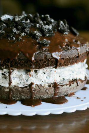 Standing Ovation (Recipe: Chocolate Covered Oreo Cookie Cake)
