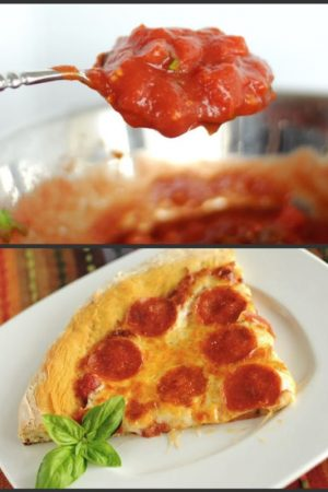 New York Style Pizza Crust & Sauce Recipe