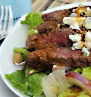 Beef It's What's For Dinner Wednesdays (Recipe – Cajun Beef Southwestern Salad)