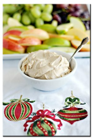 Cookie Overload? {Recipe: Brown Sugar Fruit Dip}