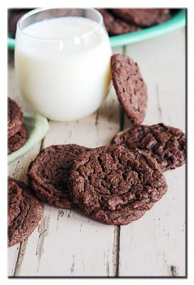 Chewy Chocolate Cookies so delicious!Extraordinary Chewy Chocolate Cookies