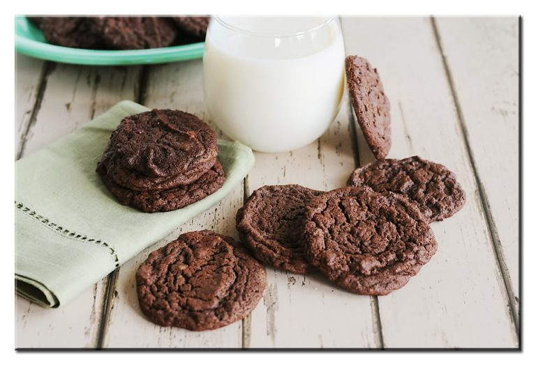 Chewy Chocolate Cookies From Dine And Dish