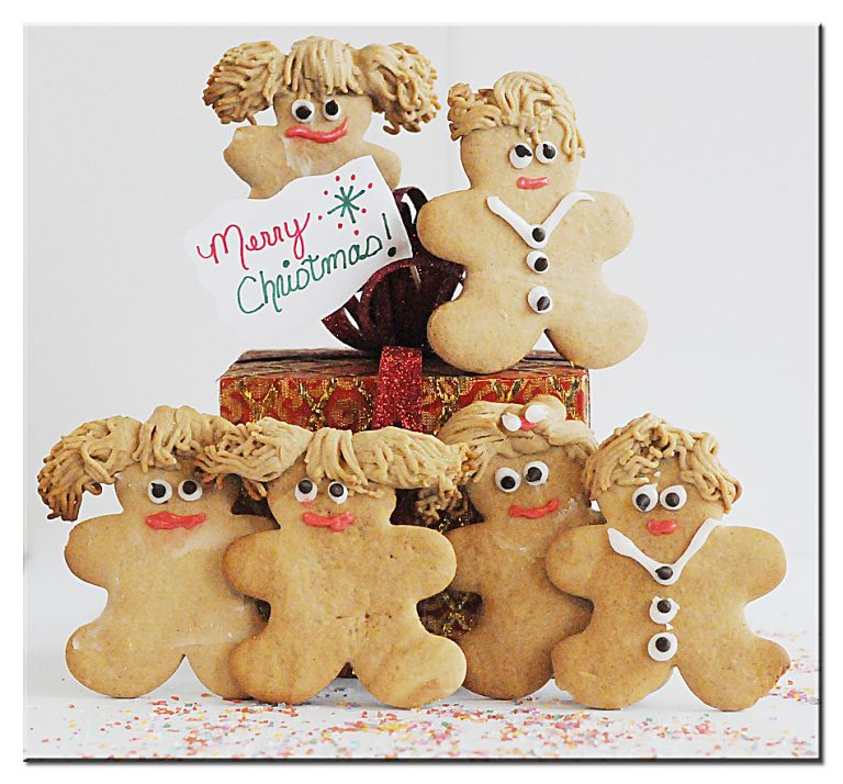 Gingerbread Family Boys Girls