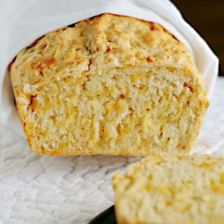 Cheddar Cheese Beer Bread from dineanddish.net