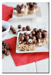 Eat.Live.Be Week 4 {Recipe: Chocolate Malt Krispie Bars}