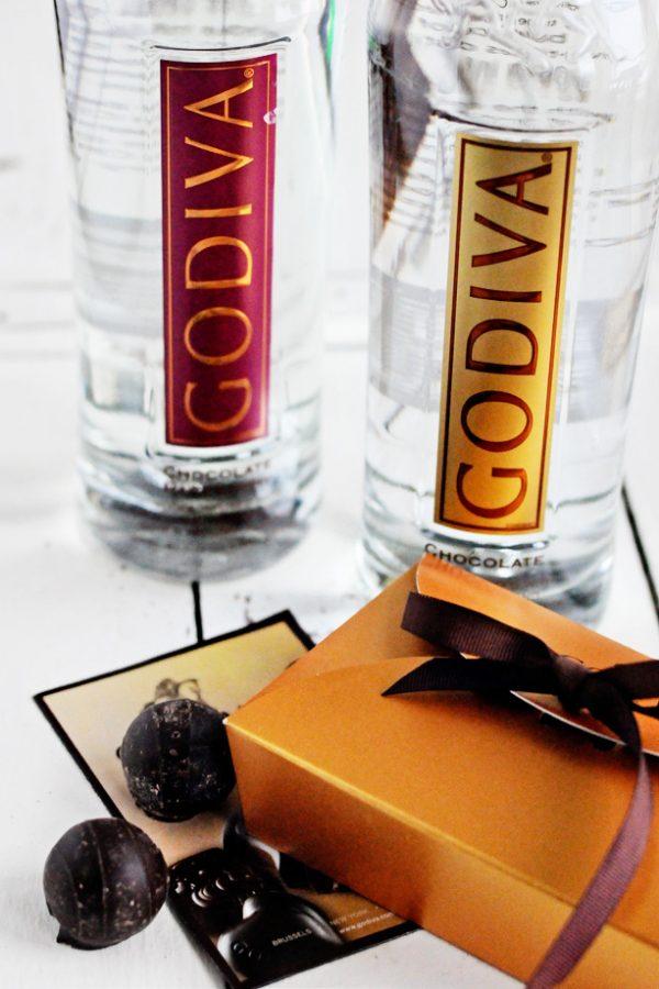 godiva chocolate infused vodka valentines day cocktails