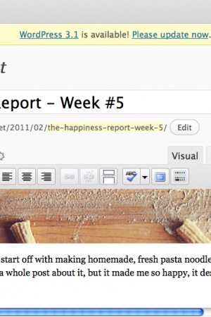 The Happiness Report – Week #5