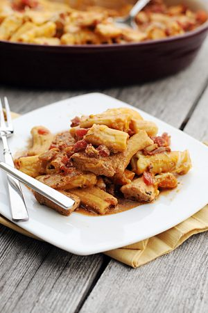 A Pasta Discovery {Recipe: Rustic Baked Rigatoni}