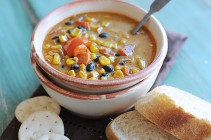 Roasted Corn Soup Horiz