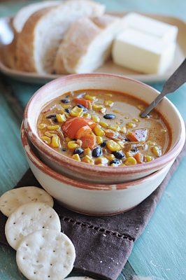 Roasted Corn Soup