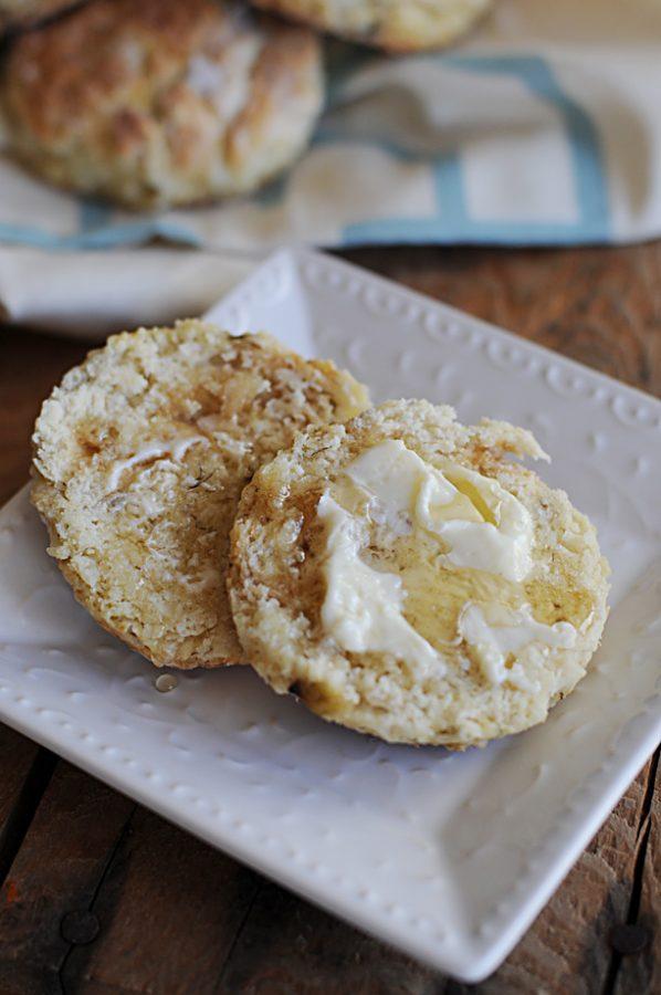 Banana Buttermilk Biscuits