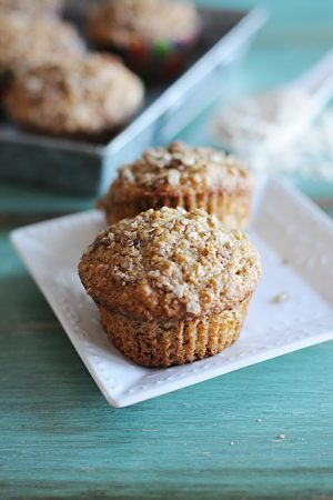 Quaker Amazing Heart Giveaway {Recipe: Applesauce Oatmeal Muffins}