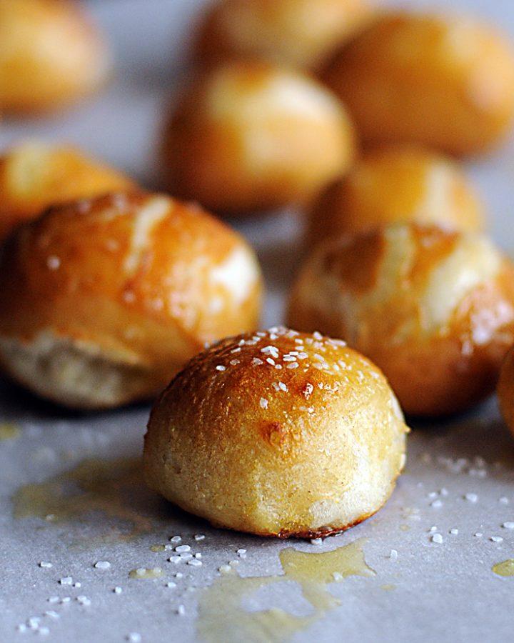 Pretzel Bites Using the Bread Machine
