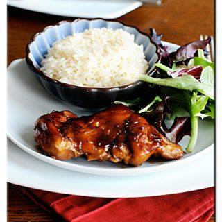 teriyaki chicken thighs