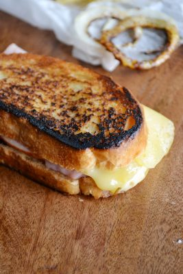 Jarlsberg Grilled Cheese Sandwich