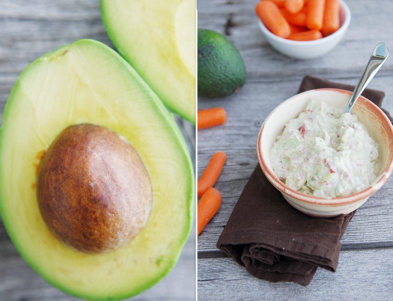 Lighter Avocado Dip Recipe — Dishmaps