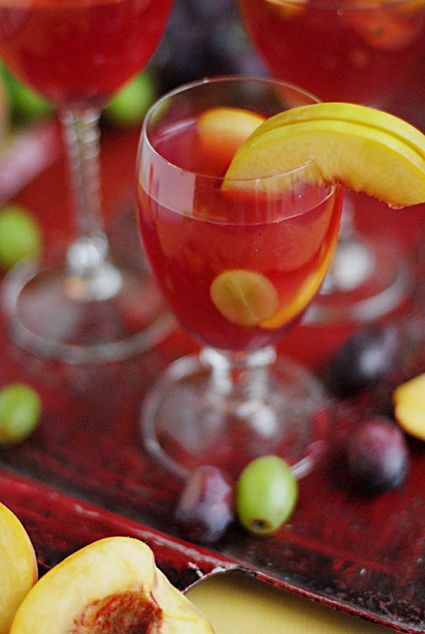 ... Picnic For the Planet {Recipe: White Peach Sangria} - Dine and Dish