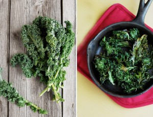 Mom's Cooking {Recipe: Oven Baked Kale Chips}