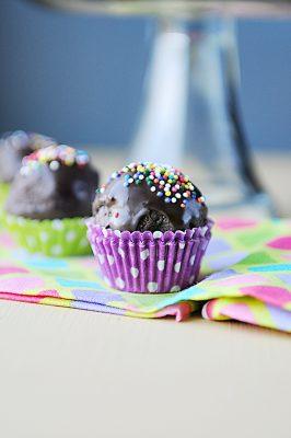 Thin Mint Cake Balls