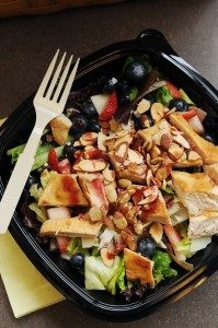 Wendy's Berry Almond Chicken Salad Gift Card Giveaway