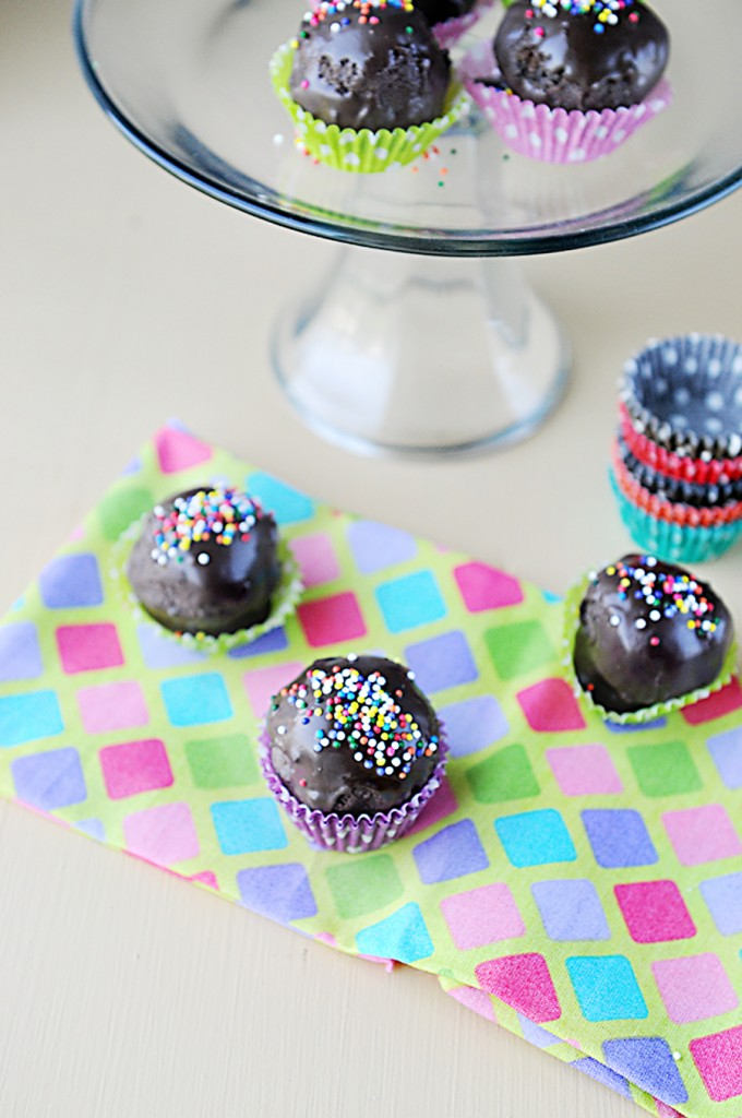 Thin mint cake balls recipe