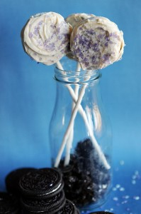 Simple and Special {Recipe: Chocolate Dipped Oreo Cookies on a Stick}