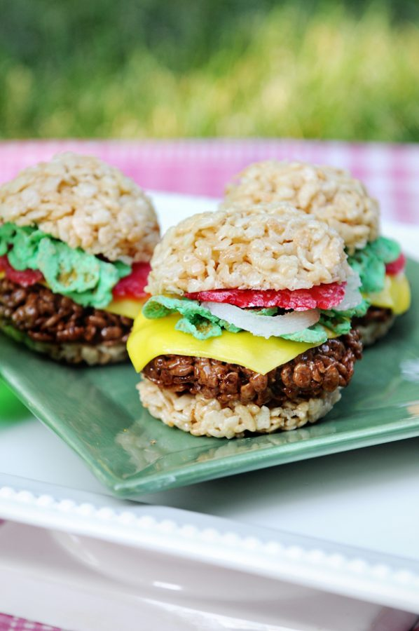 Rice Krispies treats fun picnic recipes!