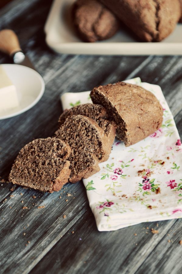 dark roast coffee yeast bread