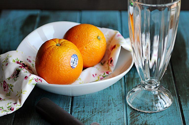 Creamy Orange Milkshake Recipe from Dine and Dish
