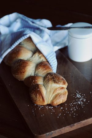 Leftover Bread {Recipe: Bread Machine Challah}