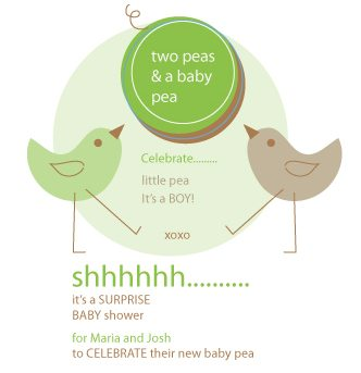 Two Peas Baby Shower
