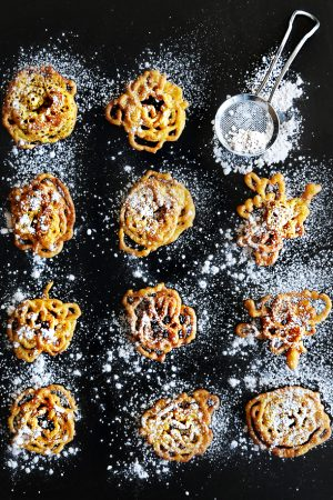 Admit It {Recipe: Bite Size Pumpkin Funnel Cake Crispies}