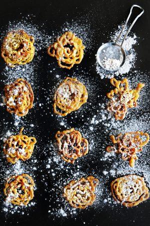 Admit It {Recipe: Bite Size Pumpkin Funnel Cake Crispies}