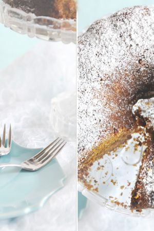 Distracted Cleaning {Recipe: Oatmeal Pumpkin Bundt Cake}