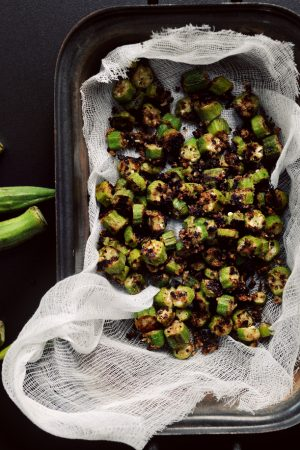 Worth the Wait {Recipe: Fried Okra}