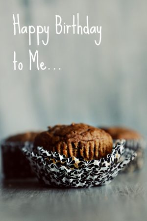 Birthday Muffins {Recipe: Simple Pumpkin Muffins}