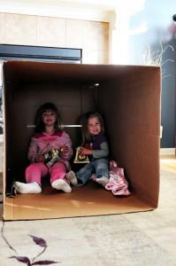 Box Girls Happy