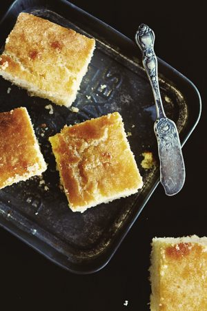 Memories of Tippins {Recipe: Honey Butter Corn Bread}