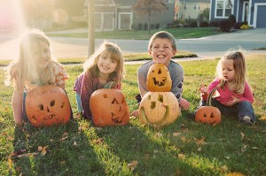 all kids pumpkins