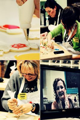 cookie class collage