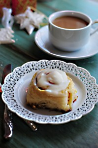 Merry Christmas {Recipe: Our Favorite Homemade Cinnamon Rolls}