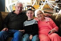 Jacob 10 & Grandparents