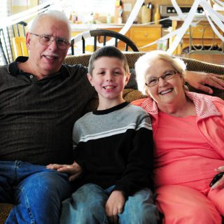 Jacob 10 & Grandparents
