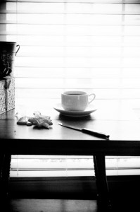 coffee bw