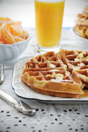 Multi-Generational Parenting {Recipe: Mike's Favorite Waffles}